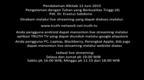 Pdt. Dr. Erastus Sabdono  PA 12 Juni 2015  Pengalaman dengan Tuhan yang Berkualitas Tinggi 3