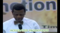 Accelerated Promotions by Pastor E A Adeboye- RCCG Redemption Camp- Lagos Nigeria