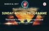 Sunday Revival Crusade (26th Mar, 2017) by Pastor W.F. Kumuyi..mp4