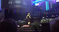 Dream come true for young lady at a Sandi Patty concert.flv