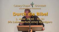 Durch die Bibel - 1 Mose 28,10 - 30,24 - Die Lebensschule eines Betrügers.flv