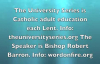 Bishop Robert Barron Passionately preaches against youtube Heresies.flv