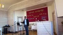 Rev.San Toe in Norway (18 july 2014)-2.flv
