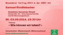 Samuel Rindlisbacher - Wie können wir leben.flv