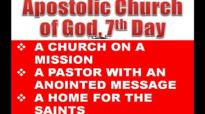 Bishop Dr. GG Cooper  Excerpts Sunday Night Worship 29.01.12