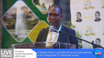 Kenyan legal expert Lumumba delivers Tiro lecture.mp4