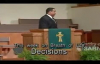 Decisions Pastor Walter L Pearson Jr.