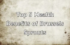 Top 5 Health Benefits of Brussels Sprouts  Health Benefits of Brussels Sprouts