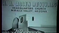 AA Allen Miracles of Healing
