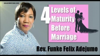 The Four Levels of Maturity Before Marriage