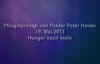 Peter Hasler - Pfingstsonntagspredigt - Hunger nach mehr - 19.05.2013.flv