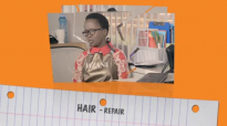 Hair repair indeed. Kansiime Anne. African Comedy.mp4