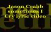 Sometimes I Cry Lyric Video.flv