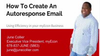 How To Create An Autoresponse Email myEcon Productivity.mp4