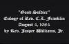 Rev. Jasper W. Williams, Jr, Senior Pastor, Salem Bible Church, Atlanta, GA.mp4