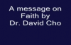 A message on Faith  David Cho