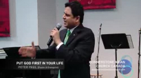PUT GOD FIRST IN YOUR LIFE - Sermon by Pastor Peter Paul.flv