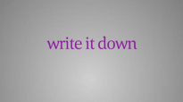 Write It Down - Bob Proctor.mp4