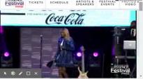 Le'Andria Johnson Holy Ghost Kim Burrell Tribute.flv