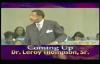 Dr. Leroy Thompson  The Spiritual Laws Of Abundance Pt.1
