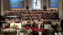 Pastor Jerry Black Prayer of ComfortHF Shepherd HomeGoing Celebration
