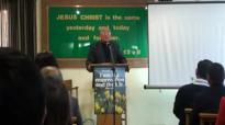 Pastor Robert Karthak preaching at Hounslow nepali fellowshippart 3