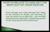 Bishop Michael Hutton - Wood - How To Relate To And Get The Best Out Of Your Pastor Part 3 of 6.flv