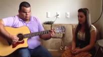 Clayton Queiroz e Thais de Souza, violao e voz quero decer