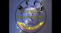Maman Olangi  Culte dAdoration du 04 Novembre 2012  Ton Entourage  Ton Milieu Social