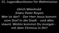 JuMiKo 2014 - Ulrich Weinhold (Hans Peter Royer) - Wer ist der - Matthäus 21, 1-10.flv