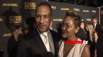 Meagan Good & DeVon Franklin Interview _ Movieguide Awards 2015 _ Red Carpet.mp4