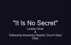 It Is No Secret - Loretta Oliver w_the Fellowship Missionary Baptist Church Mass Choir.flv