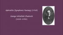 George Whitefield Chadwick  Aphrodite 1910