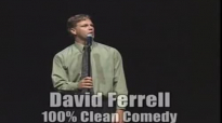 Comedian David Ferrell  Cartoon Impressions Clean Comedy