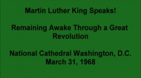 Martin Luther King Speaks! Remaining Awake Through a Great Revolution