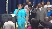 Evang. Dorinda Clark-Cole Praise Break @ ME Convention Revival Fires Service 2010!.flv