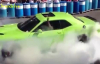 Dodge Challenger Hellcat burnout by CEO Ralph Gilles.mp4