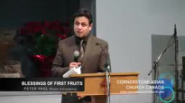 BLESSINGS OF FIRST FRUITS - Sermon by Pastor Peter Paul.flv