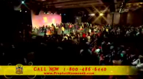 Prophet Manasseh Jordan - Laying Hands Must See Prophetic FIRE FALLS on Crowd in Baltimore.flv
