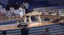 Jessica Reedy at SPWOC during morning worship service.flv