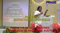 Preaching Pastor Rachel Aronokhale AOGM December 2018 PRAISE 3.mp4