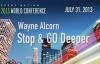 2013 World Conference Speaker Wayne Alcorn