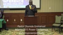 Divine Download 1 with Olumide Emmanuel, Atlanta 2015 Power Conference