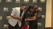 Canton Jones, Willie Moore Jr and Uncle Reece at STELLAR AWARDS.flv