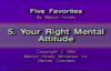 Marilyn Hickey  Your Right Mental Attitude  1992