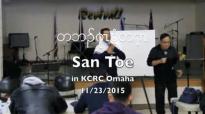 Rev. San Toe bible teaching 1_2 (KCRC Omaha) 11_23_2015.flv