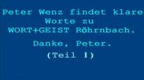 Peter Wenz äußert sich kritisch über Wort&Geist (Teil 1).flv