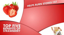Top 5 Benefits Of Strawberry  Best Health and Beauty Tips  Food  Lyfestyle