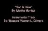 God Is Here (Instrumental Cover) - Martha Munizzi.flv