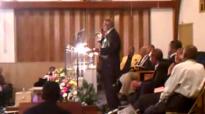 Bishop Charles E Bond Jr Bringing A Mighty Word at New Northside MB Church.flv